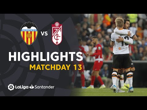 Highlights Valencia CF vs Granada CF (2-0)