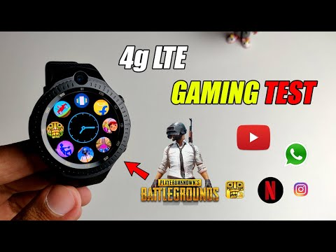 BEST 4g Android SmartWatch | Unboxing & Gaming Test