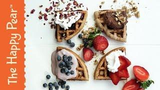 Vegan Waffles   Perfect Breakfast Food   THE HAPPY PEAR