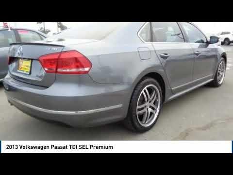 2013 Volkswagen Passat 2013 Volkswagen Passat TDI SEL Premium FOR SALE in Salinas, CA P11977