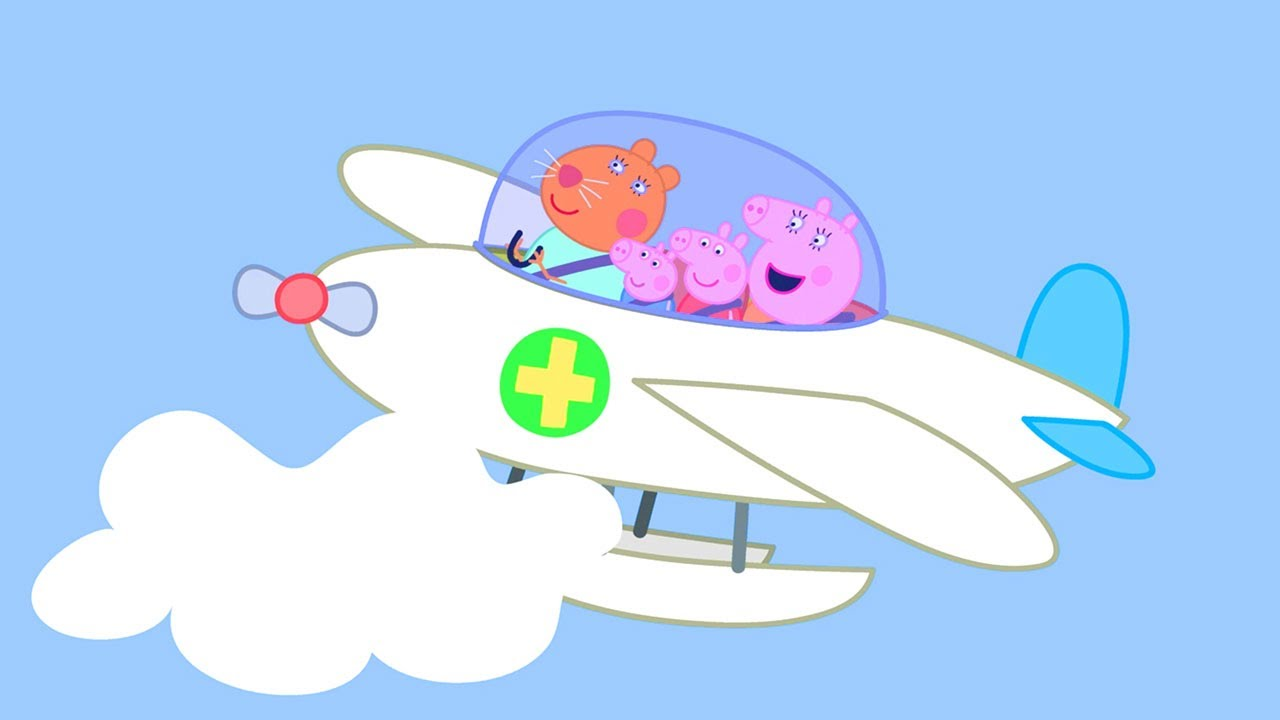 Peppa Pig Official Channel   The Flying Vet