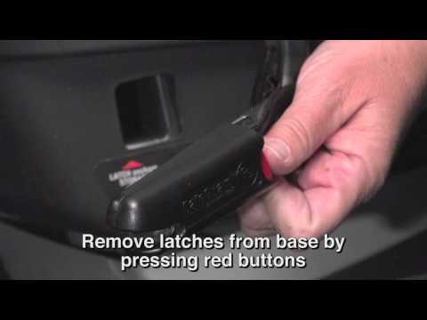 Car Seat Installation -- Primo Viaggio 4-35 with Base Using LATCH