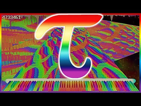 Tau The Song With 6.28318 Million Notes | Impossible Piano | Black MIDI