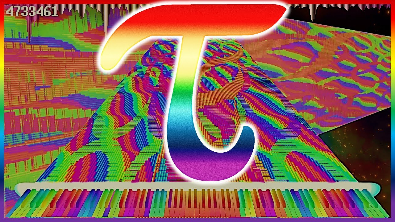 Download Tau the Song with 6.28318 Million Notes | Impossible Piano | Black MIDI