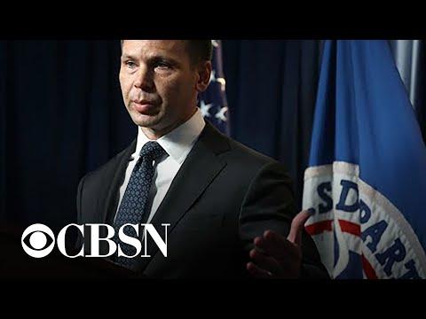 Kevin McAleenan Resigns As Homeland Security Secretary