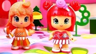 Мультики для девочек: Апельсинка и Конфетка. Чаепитие. Видео для детей