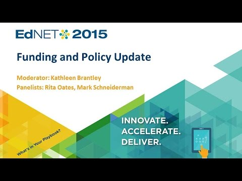 Funding and Policy Update