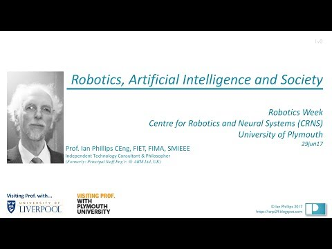 Robots, Artificial Intelligence and Society