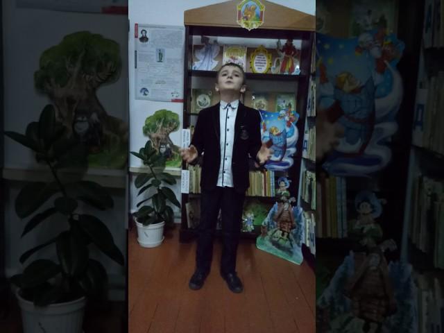 Изображение предпросмотра прочтения – ИльясХаджиев читает произведение «Зимнее утро» А.С.Пушкина