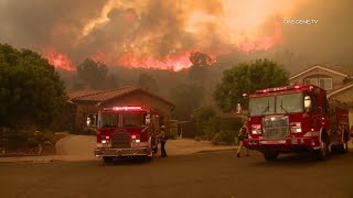 Tejana Fire Scorches Approximately 2,000 Acres In Murrieta