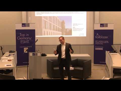 ESMT Open Lecture with Sebastian Muschter