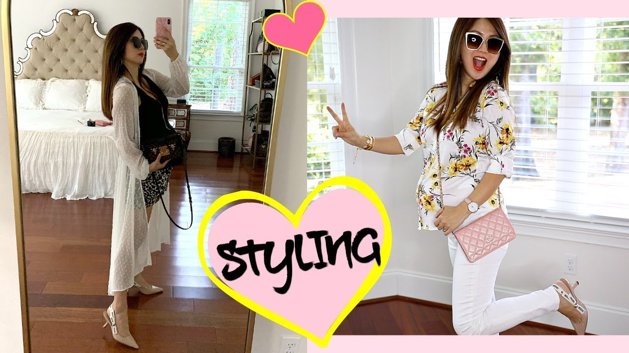 STYLING TRANSITIONAL SPRING/SUMMER OUTFITS | TRY-ON REGULAR CLOTHING | CHARIS ❤️ 2