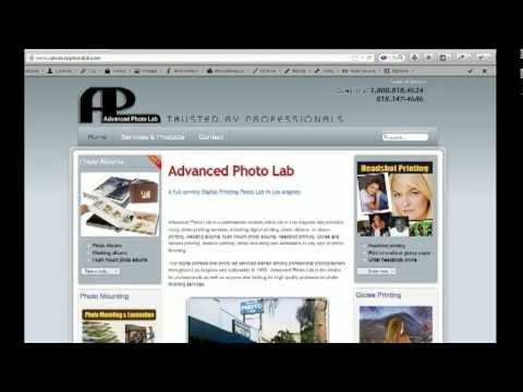 Advanced Photo Lab Online Print & Mounting - Ordering Process