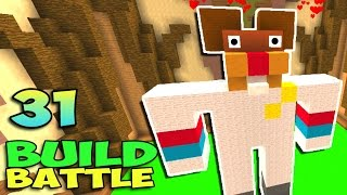 ч.31 Minecraft Build Battle - Телевизор и Белка Сенди