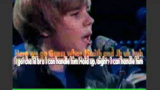 justin bieber- never say never karaoke instrumental