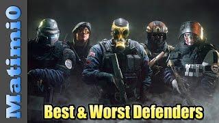 Best & Worst Defense Operators - Rainbow Six Siege thumbnail