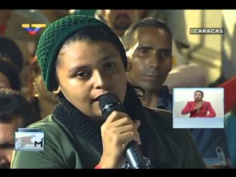 En Contacto con Maduro #51, parte 7/17, Consejo Presidencial Comunas, habla Yasmeli Carrero