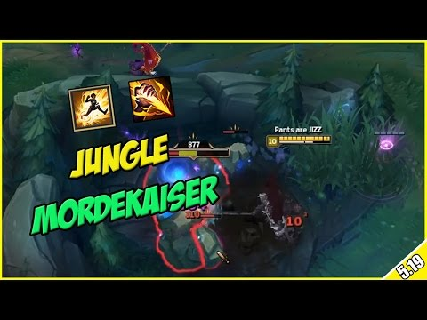 ✔ MORDEKAISER JUNGLE (Super SUSTAIN)