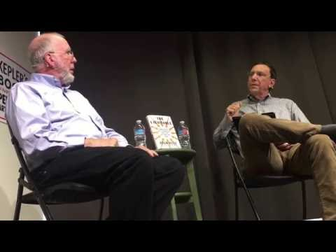 Kevin Kelley with John Markoff at Kepler's Books in Silicon Valley on The Inevitable