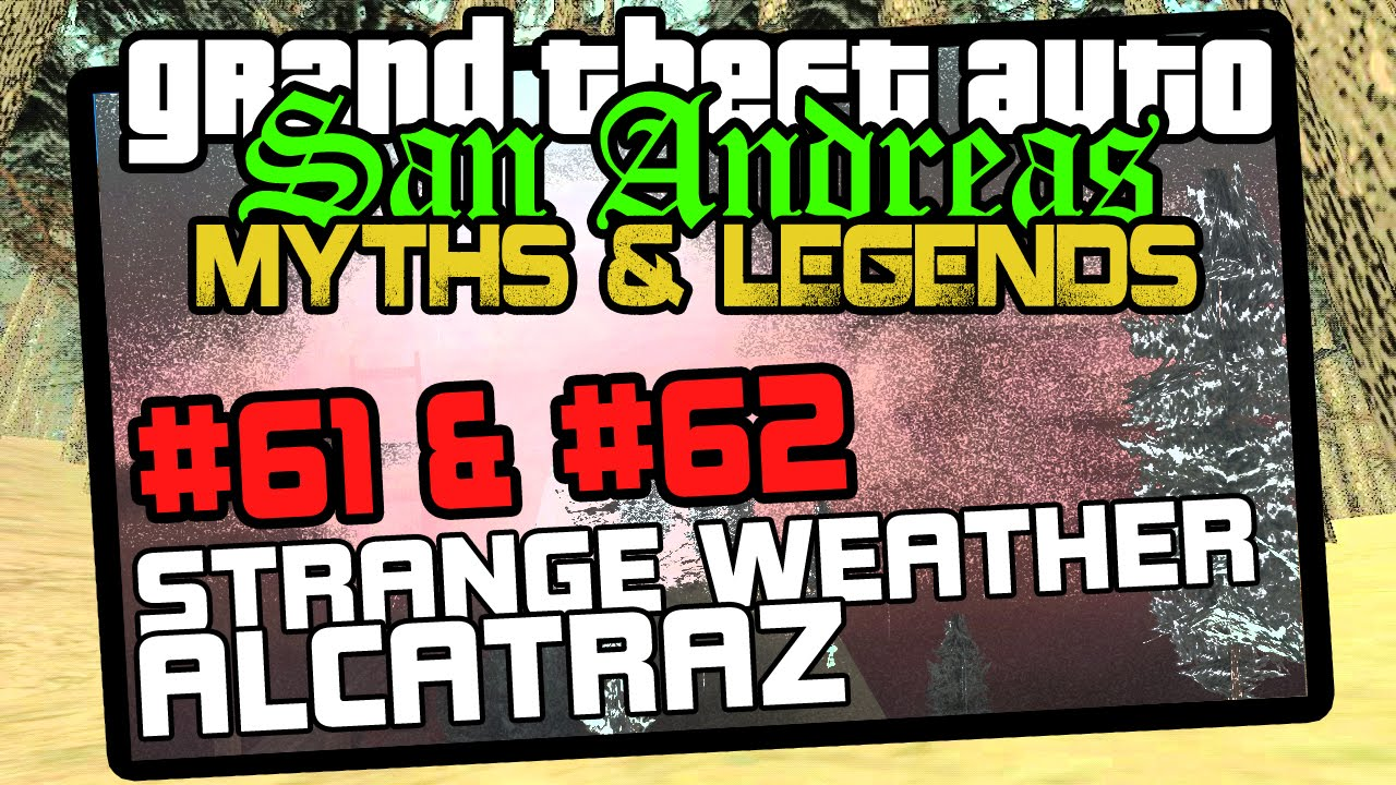 GTA San Andreas: myths and legends that fascinate and frighten