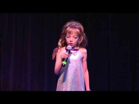 Lexi Edwards singing Sunshine Lollipops at The Cactus Theater