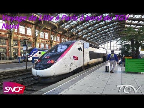VT#46 - Voyage de Lille à Paris à bord du TGV Nord