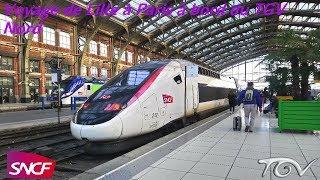 Voyage de Lille à Paris à bord du TGV Nord