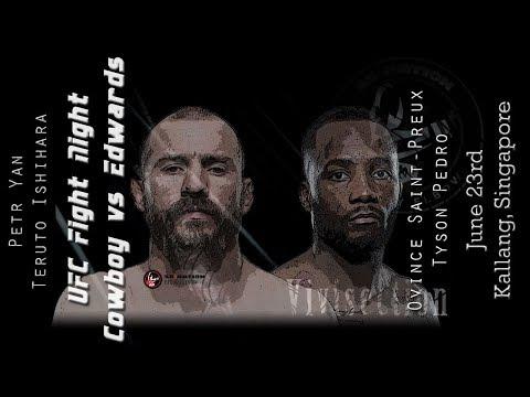 The MMA Vivisection - UFC Singapore: Cerrone vs. Edwards picks, odds, & analysis