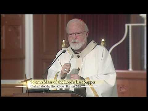 Cardinal Seán O'Malley: The Lord's Last Supper | Holy Thursday Mass (2017)