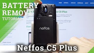 How to Remove Battery in TP-LINK Neffos C5 Plus - Soft Reset / Force Restart