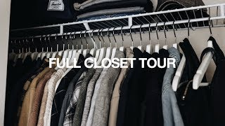 FULL Closet Tour + Organization Tips