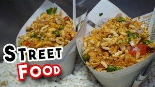 INDIAN STREET FOOD | U P Special Street Food |  Bhel Puri Recipe |  Delicious Food