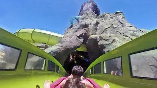 Krakatau Aqua Coaster FULL POV at Volcano Bay, Universal Orlando