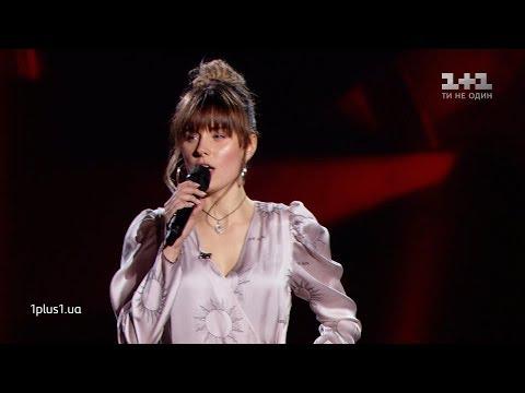 """Bohdana Renk – """"Hero"""" – Blind Audition – The Voice of Ukraine – season 9"""