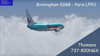 FSX | *Special Episode* | EGBB - LFPO | New Addons & Scenary | Full Flight