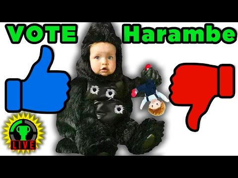 Make HARAMBE Great Again! | Would You Rather