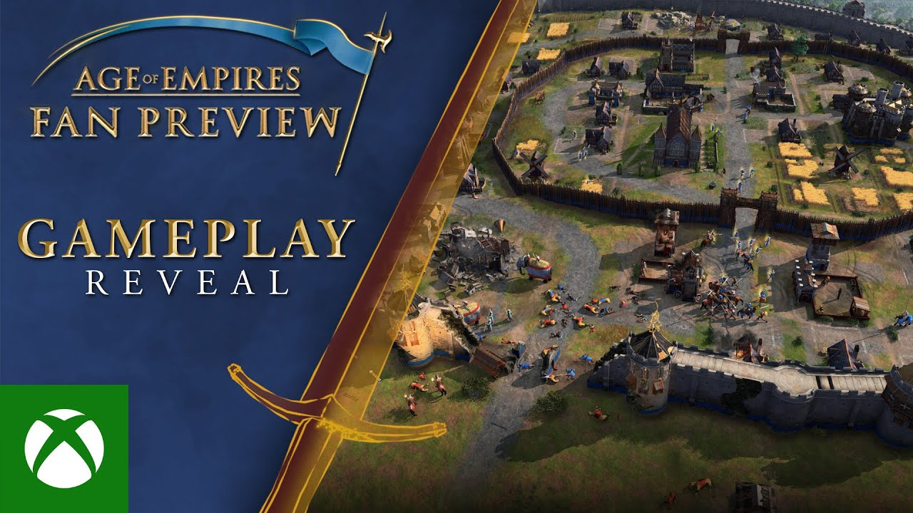 Microsoft Unveils New Gameplay Trailer for 'Age of Empires IV'