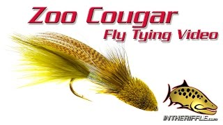 Zoo Cougar Streamer Fly Tying Video Instructions - Kelly Galloup Fly Pattern