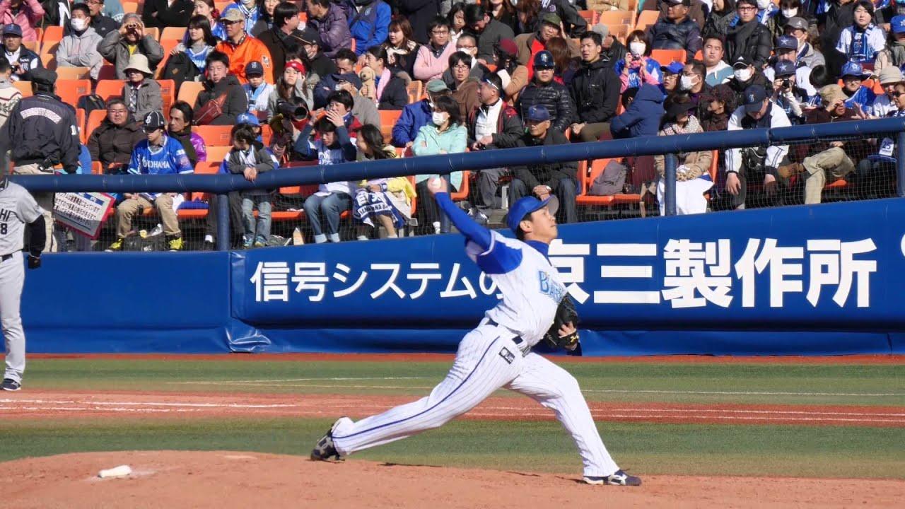 山崎康晃投手が32セーブ目を記録