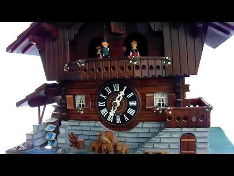 German Black Forest Handmade SWISS MUSICAL Cuckoo Clock