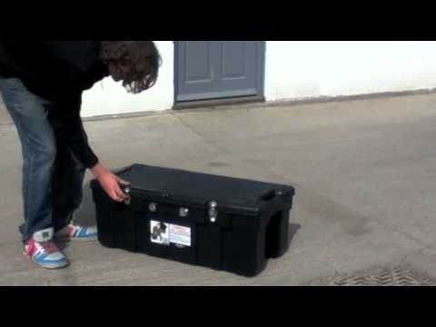 Gorilla On Wheels Storage Trunk Top Of The Range Youtube