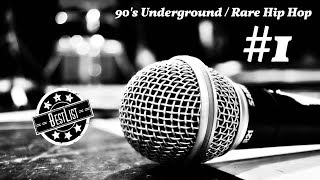 90's Rare Hip Hop Mix (Rap & Underground)