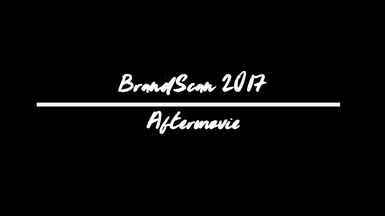 BrandScan 2017 | Aftermovie | 25 years of legacy
