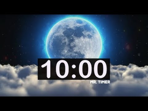 10 Minute Timer with Relaxing Music! Calm Music for Peace, Meditation,  Sleep for Kids!