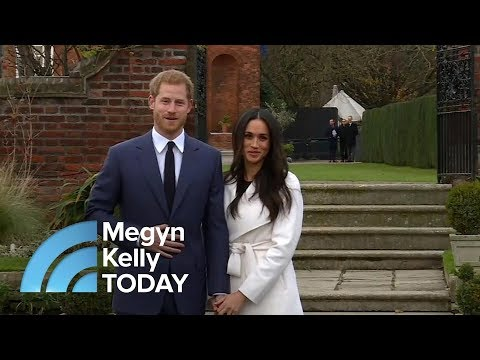 Prince Harry And Meghan Markle's First Live Appearance As An Engaged Couple  Megyn Kelly TODAY