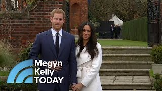 Prince Harry And Meghan Markle's First Live Appearance As An Engaged Couple | Megyn Kelly TODAY
