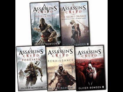descargar-pack-de-5-libros-de-assassin's-creed
