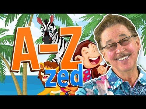 Animal Alphabet Move and Groove   A-Zed   Jack Hartmann