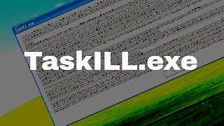 TaskILL.exe (My terrible joke program)