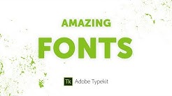 Amazing Fonts For Designers